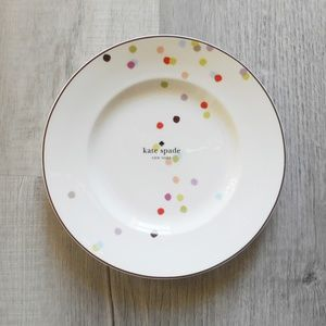 Set of 8, Kate Spade Market Street Accent Plates
